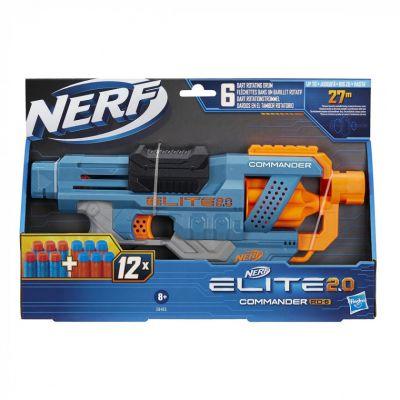 NERF Бластер Элит 20 COMMANDER RC 6