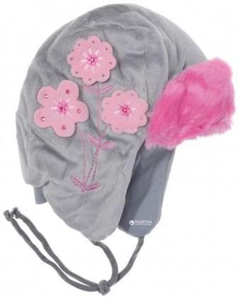 Шлем-капор TuTu Ушанка цветы Микс