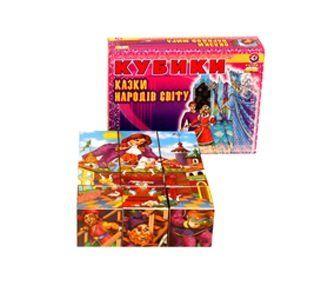 Кубики Сказки народов мира Технок