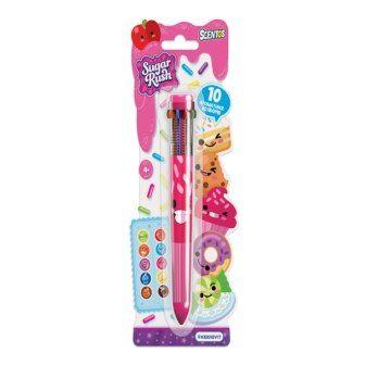 Многоцветная ароматная шариковая ручка