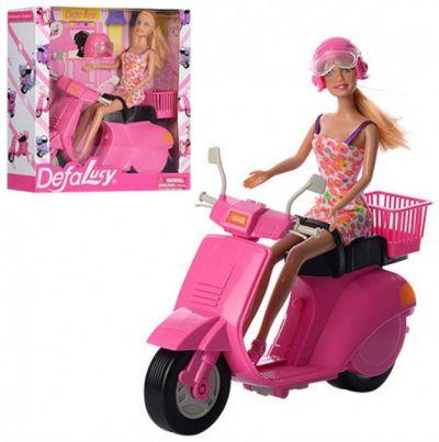 Кукла DEFA с мотоциклом