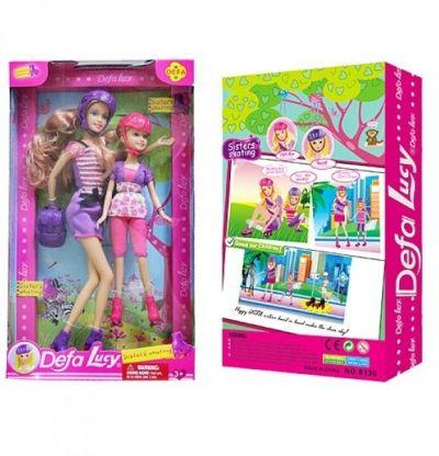Кукла DEFA с рюкзаком
