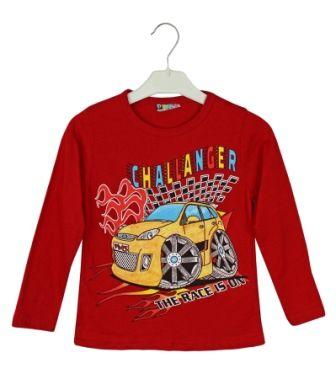 Джемпер Машина Красный