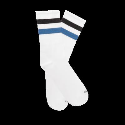 Носки однотонные р22 Белый