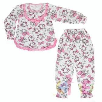 Пижама Мальвина, начес Микс
