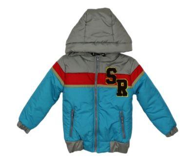 Куртка Вышивка SR Бирюза