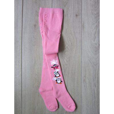 Колготы  махровые р110 Розовый