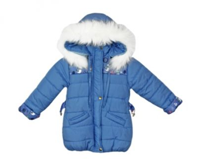 Куртка Линда голубая Голубой