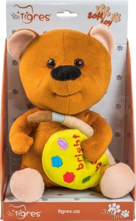 Мягкая игрушка Мишка be bright 22 см